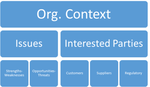 context of the organization