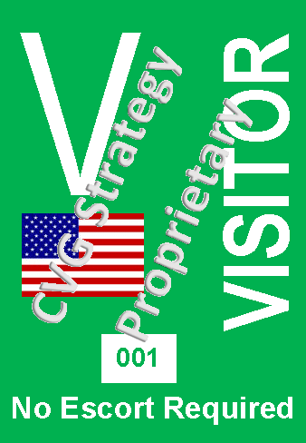 ITAR Visitor Badge US Citizen NER