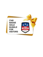 ITAR Badge Gold Bundle for visitors