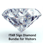ITAR Sign Diamond Bundle for Visitors
