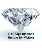 ITAR Sign Diamond Bundle for Visitors