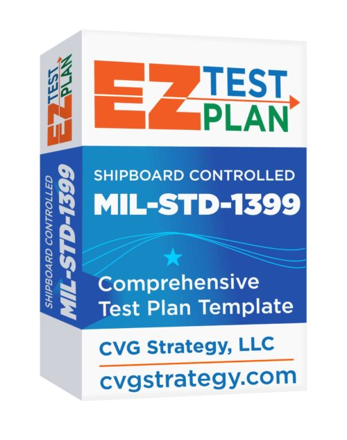 Shipboard Controlled EZ-Test Plan