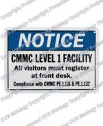 cmmc level 1 sign